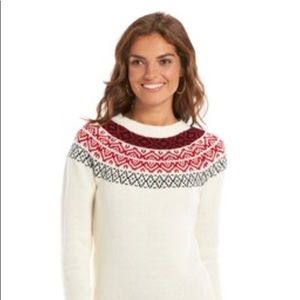 Chaps Nordic Sweater NWT F1-118
